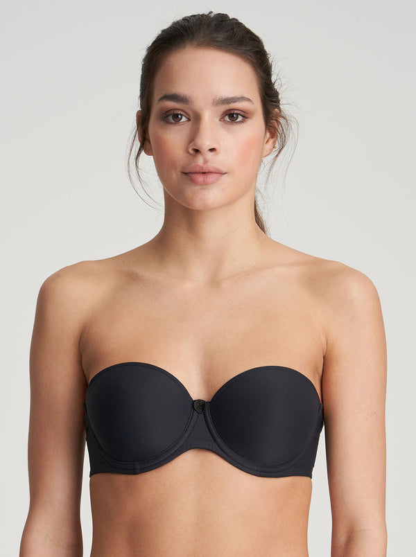 Tom Strapless Bra - Black