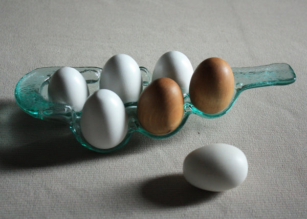 Bottleware Egg Holder - Eight Sections - Olive Green, Dark Olive Green, Brown, Blue, White or Green