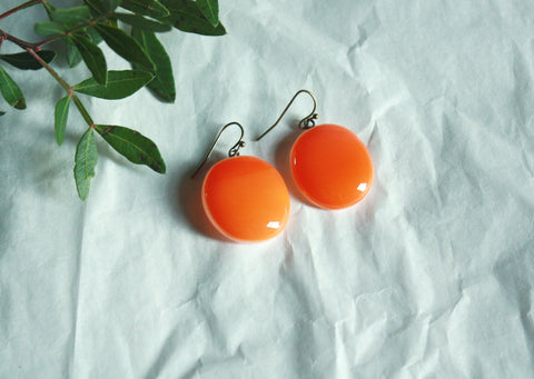 Glass Drop Earrings - Vitamins of Joy - VAU11