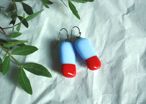 Glass Drop Earrings - Vitamins of Joy - VAU5