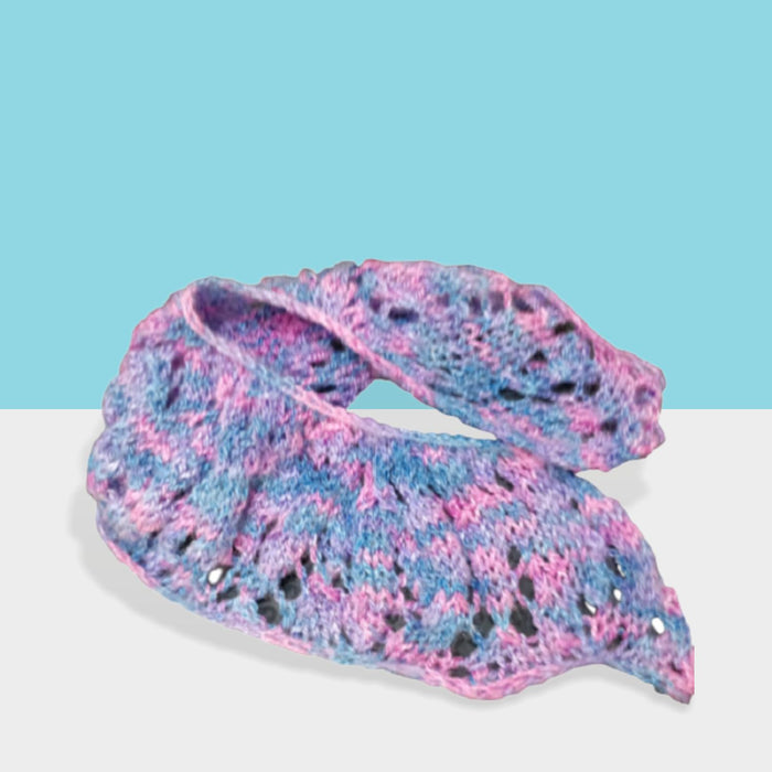 Decorative Hand Knitted Woolen Scarf