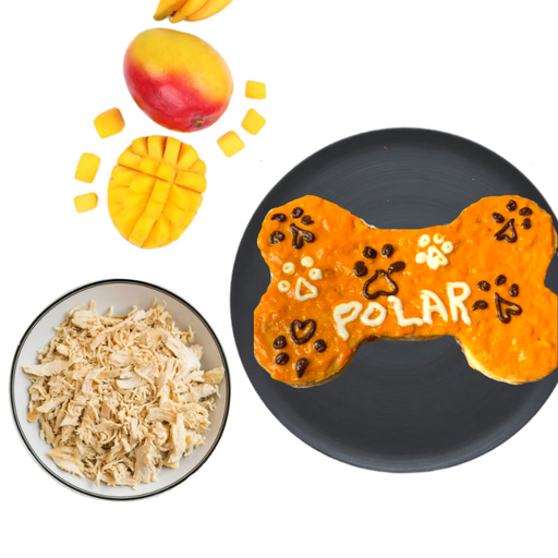 Mango Chicken Cake – Summer Special! - petfeastindia