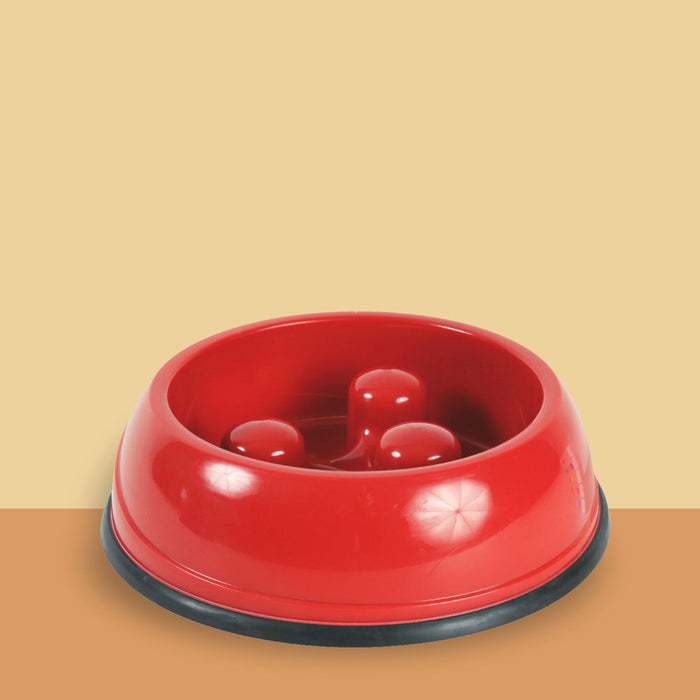 Anti-slip, Slow Feed Bowl for Dogs,
