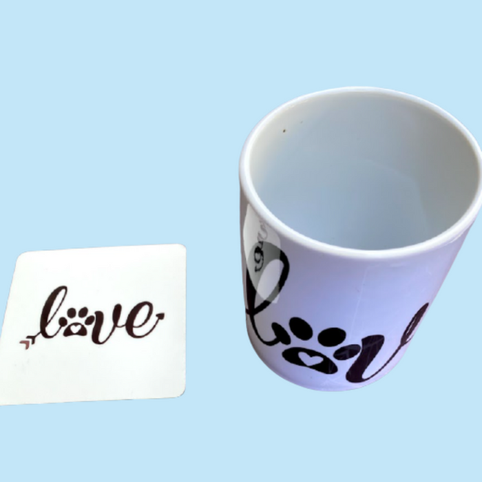Coffee Mug & Coaster (Super Saver Combo)