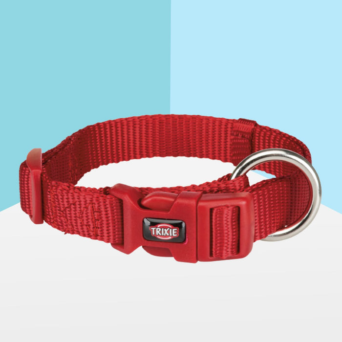 Trixie Premium Adjustable Soft Collar, Red