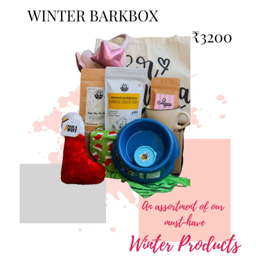 Winter Bark Box - petfeastindia