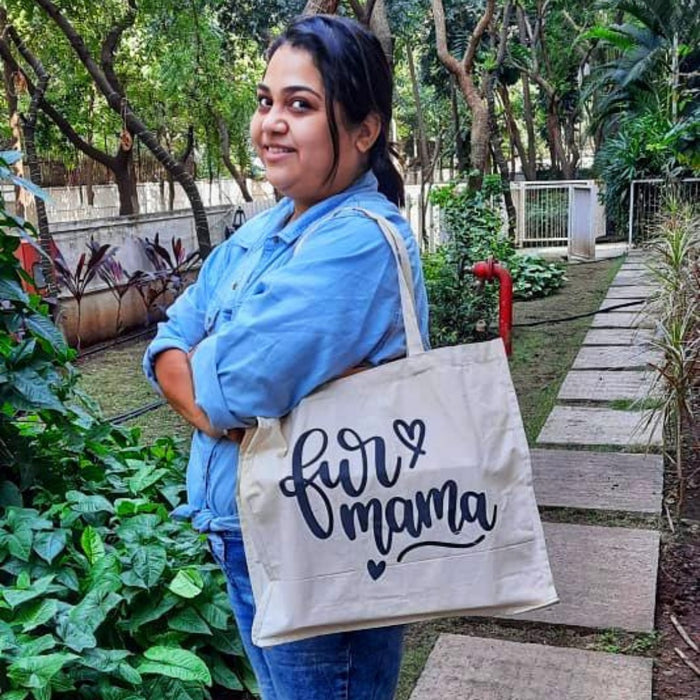 Fur Mama Canvas Bag - petfeastindia