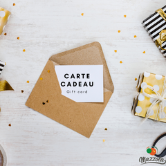 Cartes cadeaux Mazzola - Gift certificate