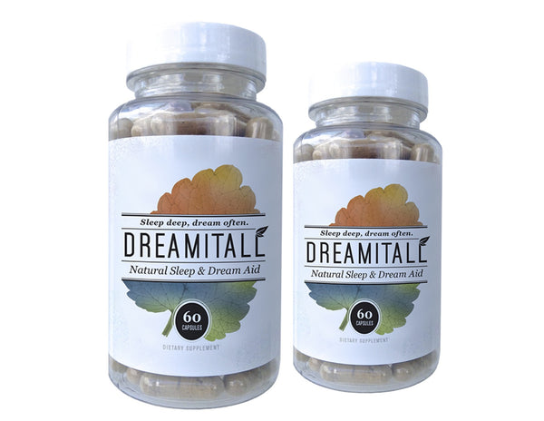 Dreamitall – 2 bottles / 120 Capsules ($1.00 Off Per Bottle)