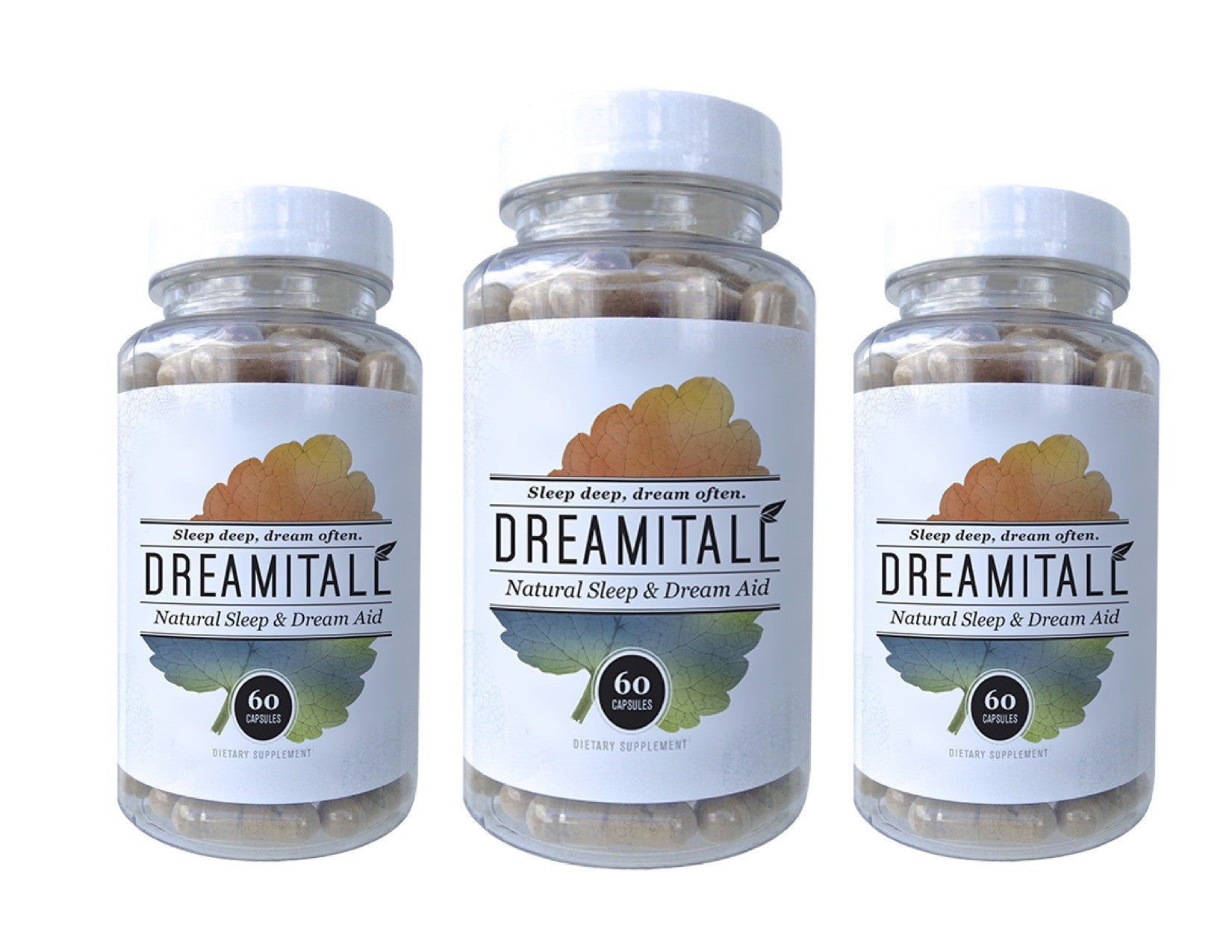 Dreamitall – 3 bottles / 180 capsules ($1.50 Off Per Bottle)