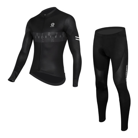 QUDRA007 Cycling Jersey (Long Sleeves) and Tights