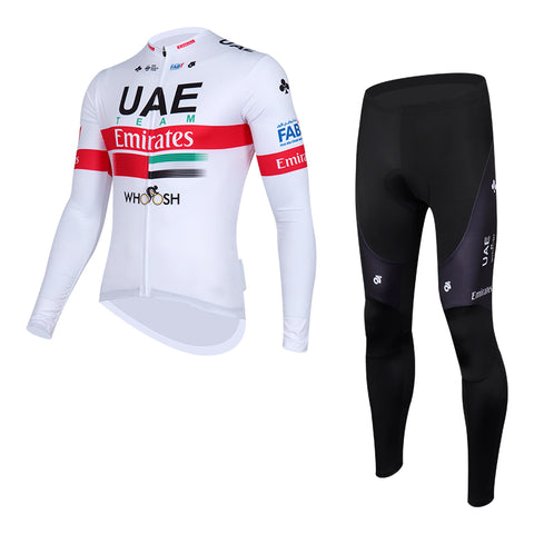 Team UAE Emirates Jersey (Long Sleeves) and Tights