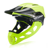 JAVA Full Face Mountain Bike Helmet