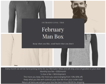 Load image into Gallery viewer, VIP Man Box - February