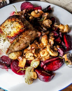 Pork Tenderloin with Maple Beets