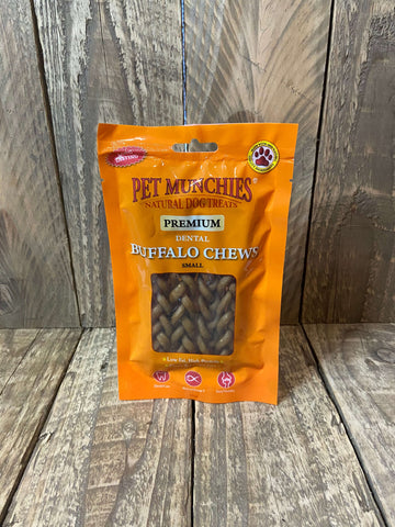 pet munchies buffalo chew small