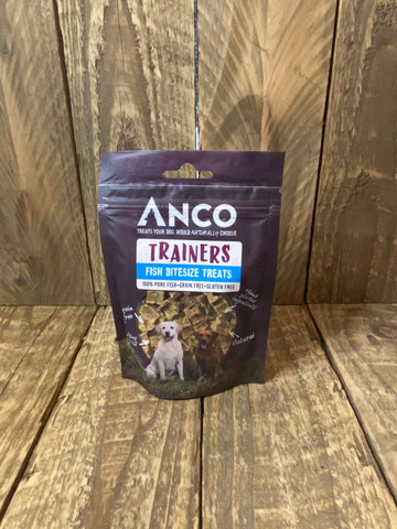 Bag of Anco fish bitesize training treats