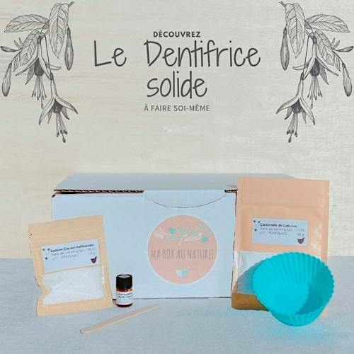 Box découverte - Dentifrice solide - PandaPlace.eco | La Marketplace éco-responsable