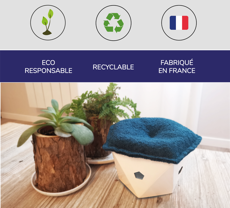 SmartBlooow - Purificateur d'air connecté, éco-responsable