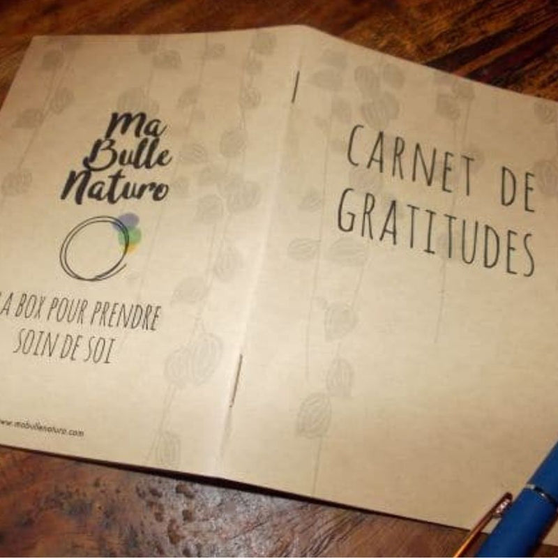 Box Emotions Carnet de gratitudes