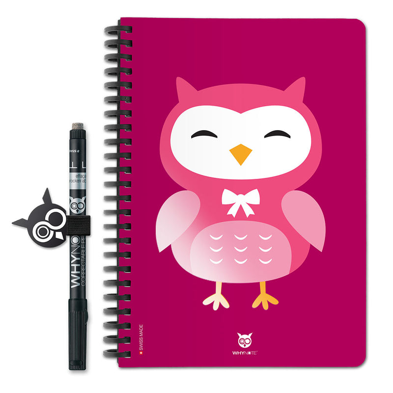 WhyNote Book – A5 – Hiboux Cartoon