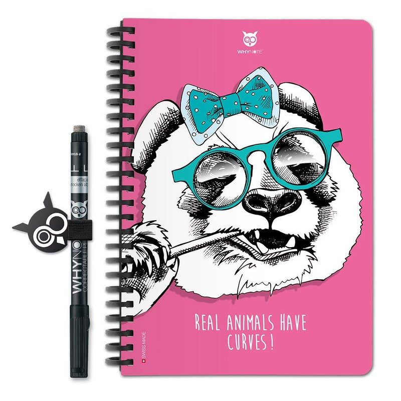 WhyNote Book – A5 – Animaux - PandaPlace