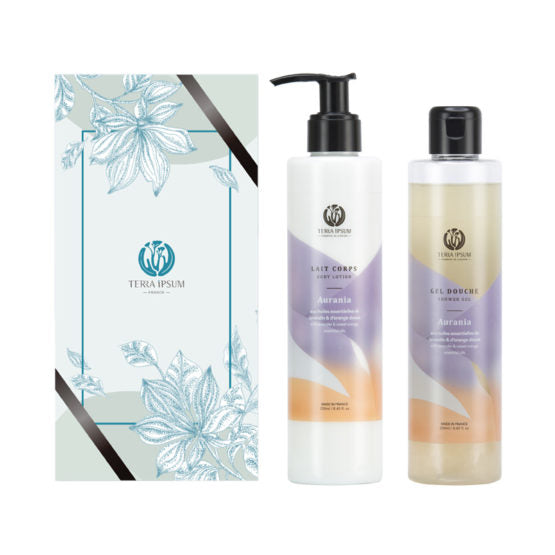 Duo Relaxation - Gel douche & Lait corps