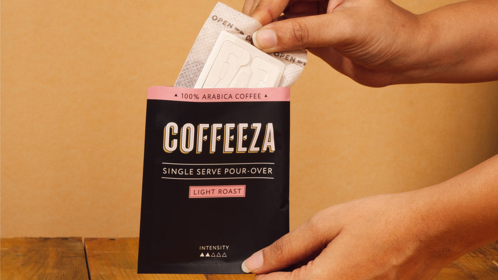3 Important Parts of Coffeeza's Single-Serve Pour-Over Coffee Bags