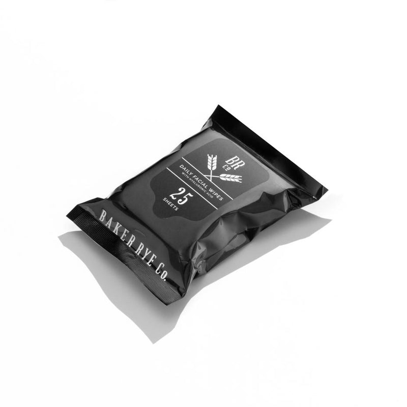 Baker Rye Daily Facial Cleansing Wipes