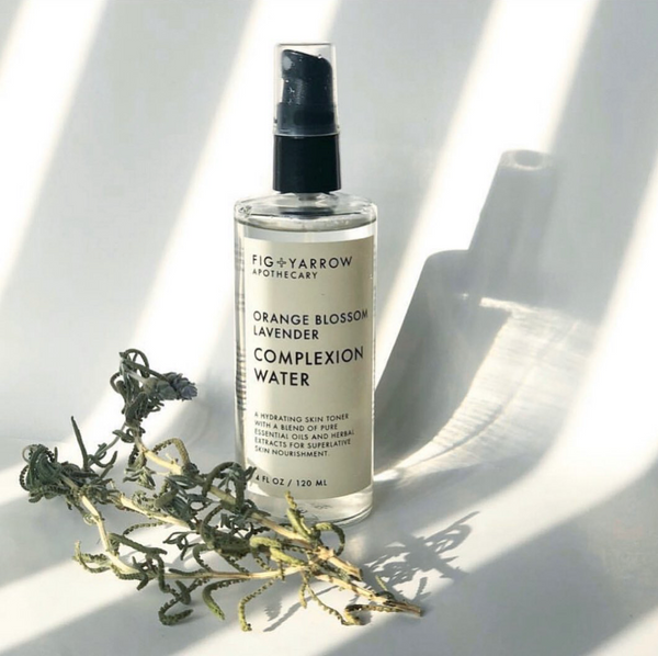 FIG + YARROW- ORANGE BLOSSOM LAVENDER COMPLEXION WATER