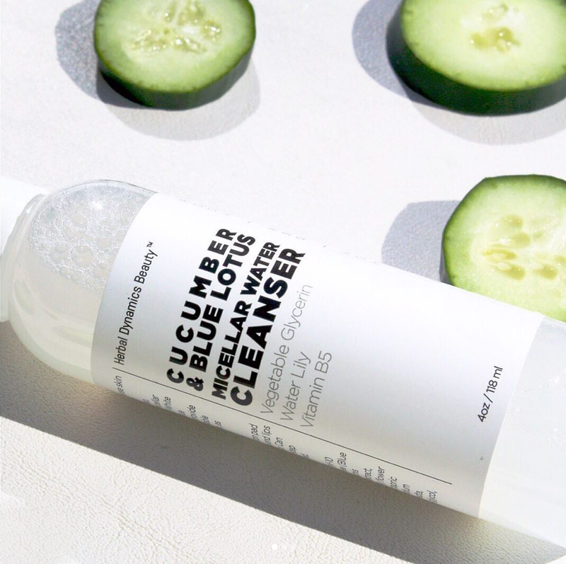 Clean & Calm Cucumber & Blue Lotus Micellar Water