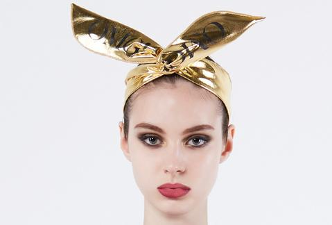 Double Dare OMG! platinum hairband-gold