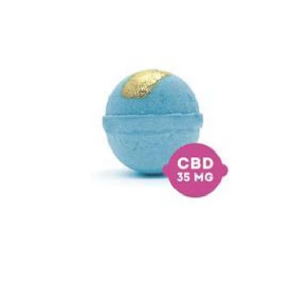 Fresh Bombs CBD Bath Bomb- PAIN RELIEVER - 2oz