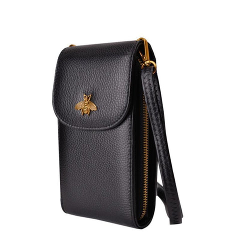 Small Bee Crossbody Bag