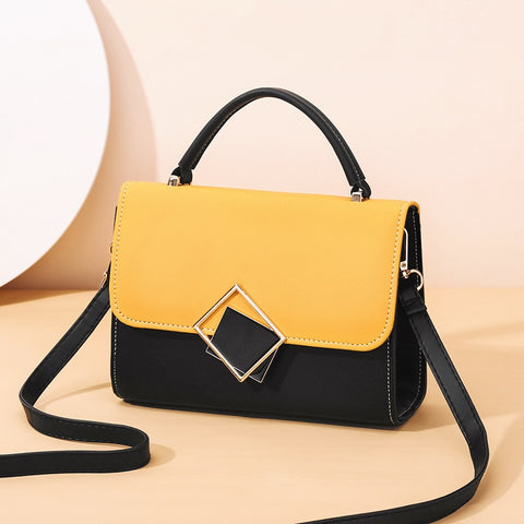 Candy Color Design Crossbody Bag
