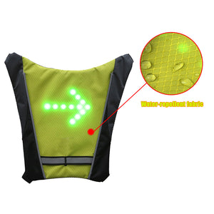 LED Indicator Vest with Wireless Remote