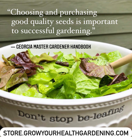Quote from Master Gardeners