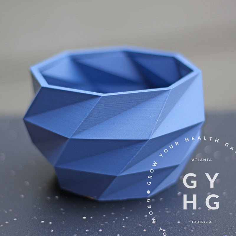 Modern Geometric 4-inch Planter Pot