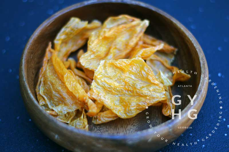 Dehydrated | Dried Sugar Rush Peach Hot Peppers