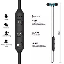 Load image into Gallery viewer, Hotteen Bluetooth 4.2 Stereo Earphone Headset Wireless Magnetic In-ear Earbuds