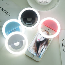 Load image into Gallery viewer, Creative Mobile Phone Photo Filling Device Dark Host Beautiful Face Lamp Taking Self Lighting High-definition Photography Jitter. Chrismas Gift