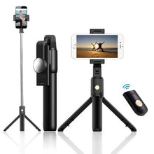 Load image into Gallery viewer, K10 Bluetooth Self-timer Pole Universal Mobile phone holder
