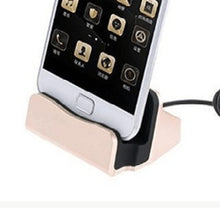 Load image into Gallery viewer, Dock Apple Phone Charge Base Android Type-C Charge Bracket Phone Universal Desktop Base