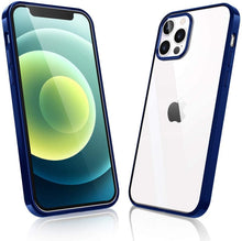 Load image into Gallery viewer, clear case iphone 12 pro max , soft shockproof tpu bumper protective cover case for iphone 12 pro 12 11pro 11promax xsmax 11 xr 7plus 8plus 6 6s se2020 soft case