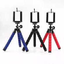 Load image into Gallery viewer, Octopus Tripod Camera Tripod Convenient Phone Photography Desktop Sponge Tripod