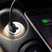 Load image into Gallery viewer, Car Truck Dual 2 Port USB Mini Charger Adapter 12V Power