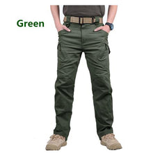 Load image into Gallery viewer, IX9 City Military Tactical Pants Men SWAT Combat Army Pants Casual Men Hiking Pants Outdoors Trousers Cargo Waterproof Pants