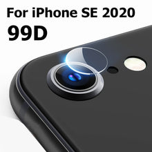 Load image into Gallery viewer, 100D Camera Protection Glass For iPhone 11 12 Pro XS Max XR X Full Cover Lens Screen Protector 7 8 Plus SE 2020 Tempered Glass