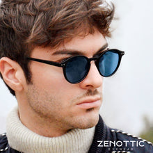 Load image into Gallery viewer, ZENOTTIC Retro Polarized Sunglasses Men Women Vintage Small Round Frame Sun Glasses Polaroid Lens UV400 Goggles Shades Eyewear
