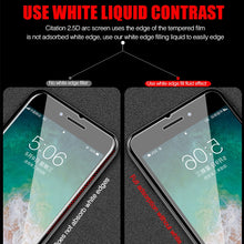 Load image into Gallery viewer, Full Cover Glass on the For iPhone X XS Max XR 12 Tempered Glass For iPhone 7 8 6 6s Plus 5 5S SE 11 Pro Screen Protector